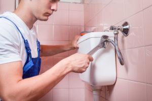 Plumber - plumbing services - toilet repair
